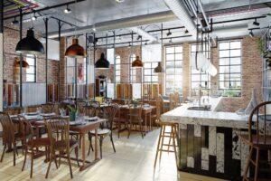 Modern Restaurant Ready For Patrons