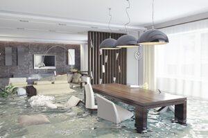 flooding inside a home