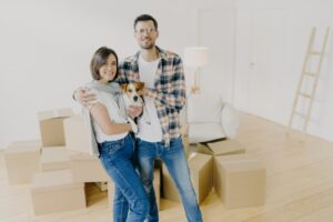 Tenants with dog moving into home