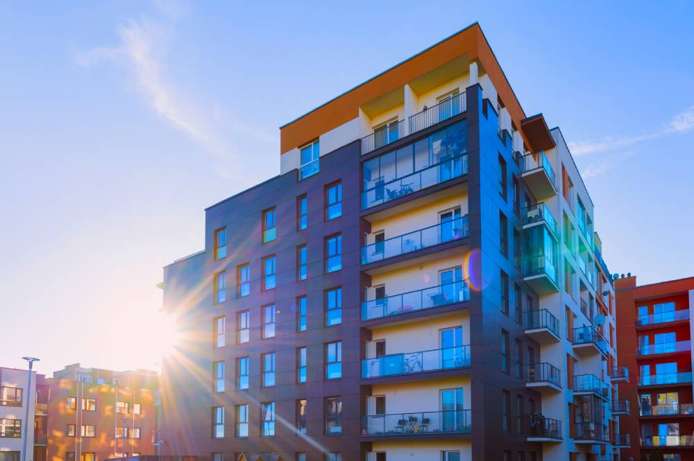 Residential apartment complex