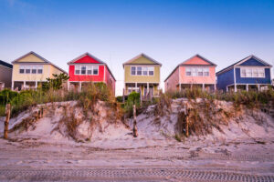 Vacation Cottages Along The Beach